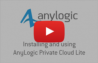 Видео: устанавливаем и используем AnyLogic Private Cloud Lite на Windows